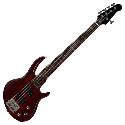Gibson EB Bass 5 String, Wine Red Satin