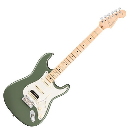 Fender American Professional Stratocaster HSS MN, Antique Olive