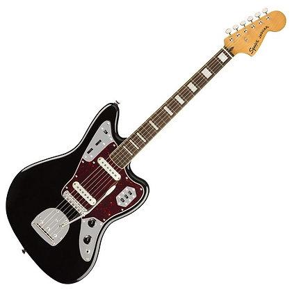 Fender Squier Classic Vibe '70s Jaguar LRL, Black