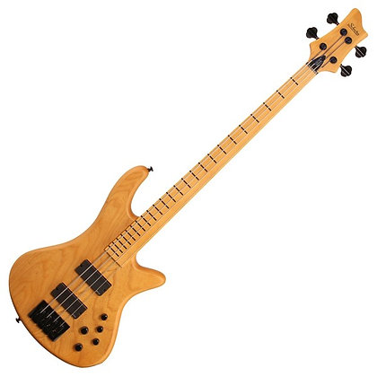 Schecter Stiletto Session-4 FL, Aged Natural Satin