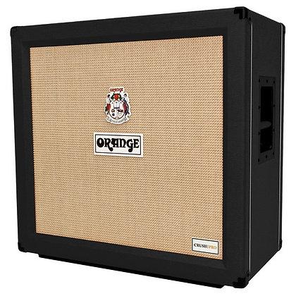"""Orange Crush Pro412 Black - 4x12"""" Speaker Cab"""