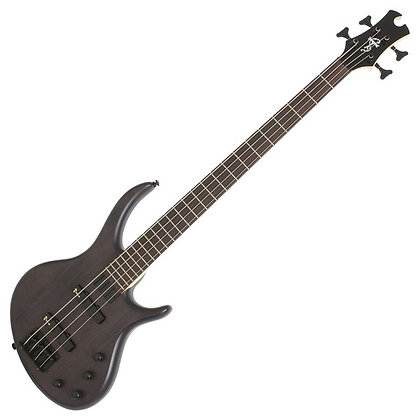 Epiphone Toby Deluxe IV Bass, Trans Black