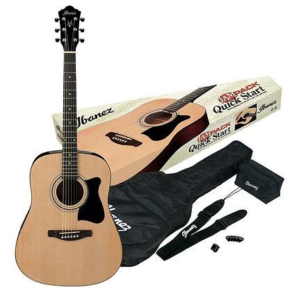 Ibanez V50NJP Dreadnought Acoustic Pack, Natural