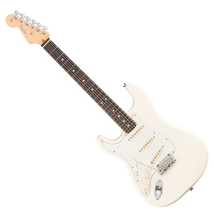 Fender American Professional Stratocaster Left Handed RW, Olympic White
