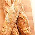 Warm French Baguette