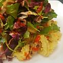 Cornmeal Crusted Calamari Salad