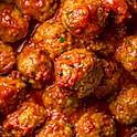 Quart of Spicy Meatballs & Sauce
