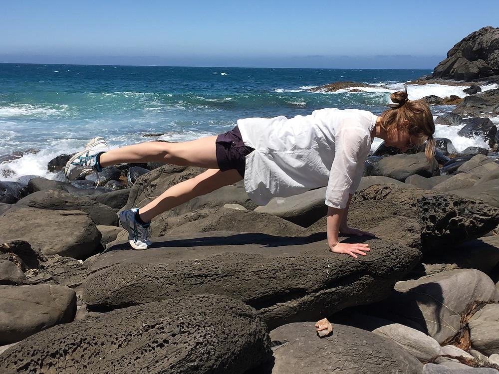 Pilates Front Leg Pull