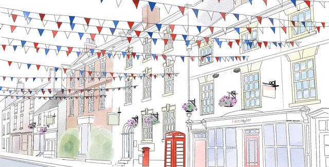 Church Street, Ashbourne Print
