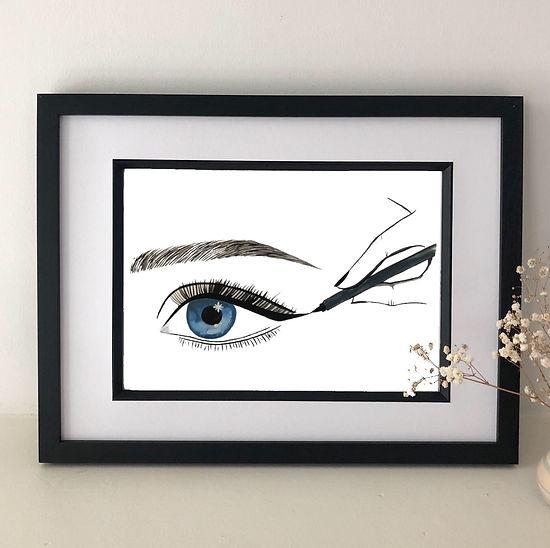 perfect eyeliner framed.jpg