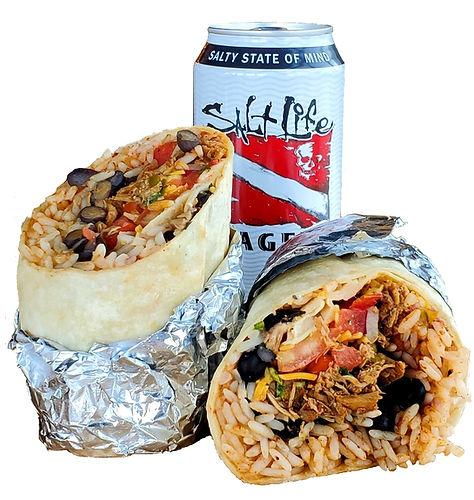 Chicken Burrito Salt Life Lager