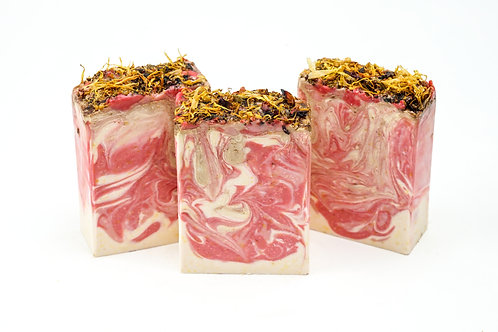 Calendula Rose Soap