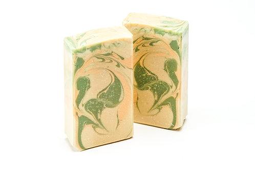 White Peach & Green Tea Soap