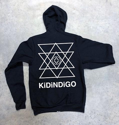 Kid Indigo Pullover (Black/White)