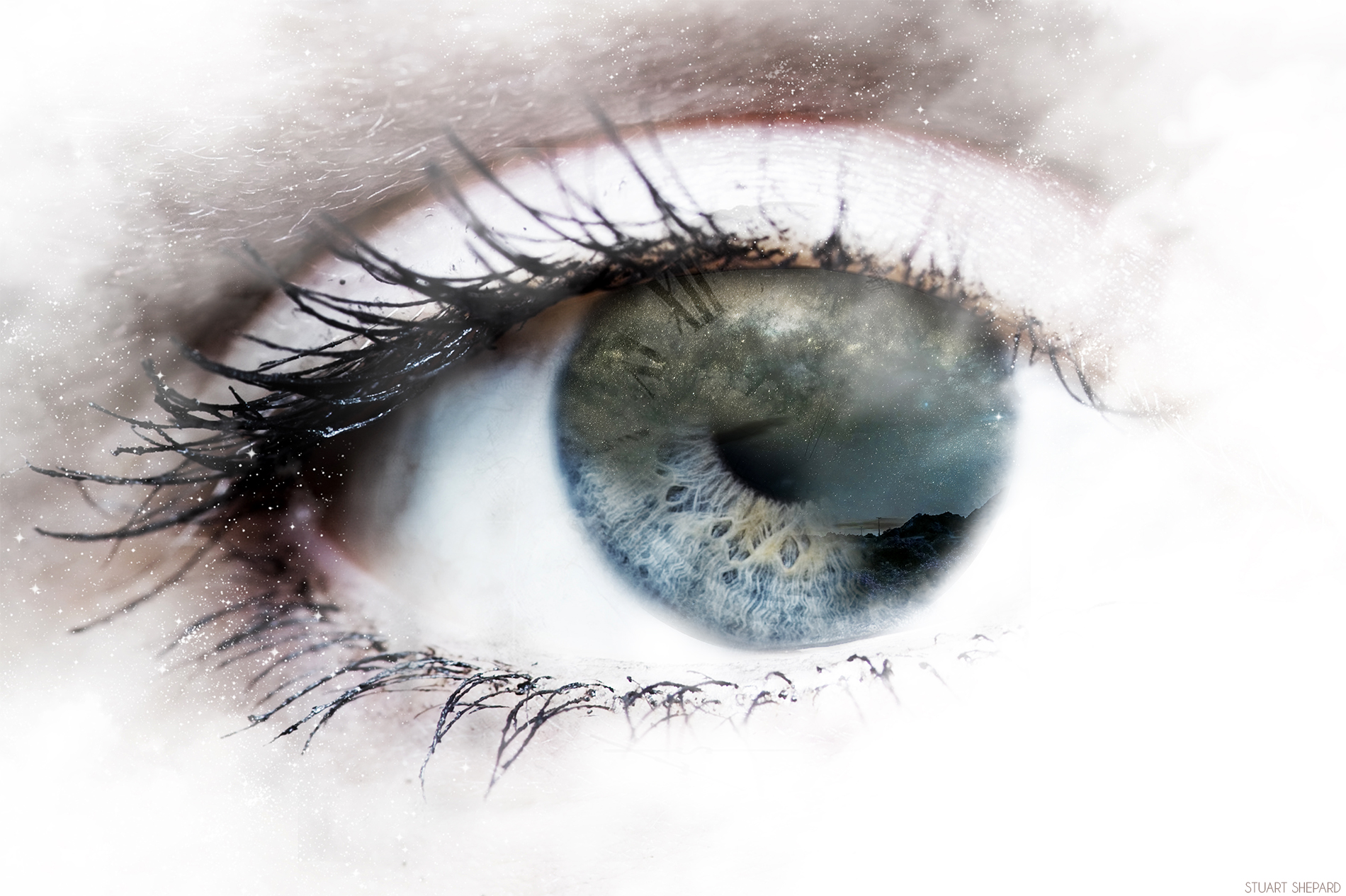 Galactic Eye Design.