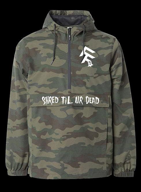 NFD Shred Til Ur Dead Jacket. (Camo)