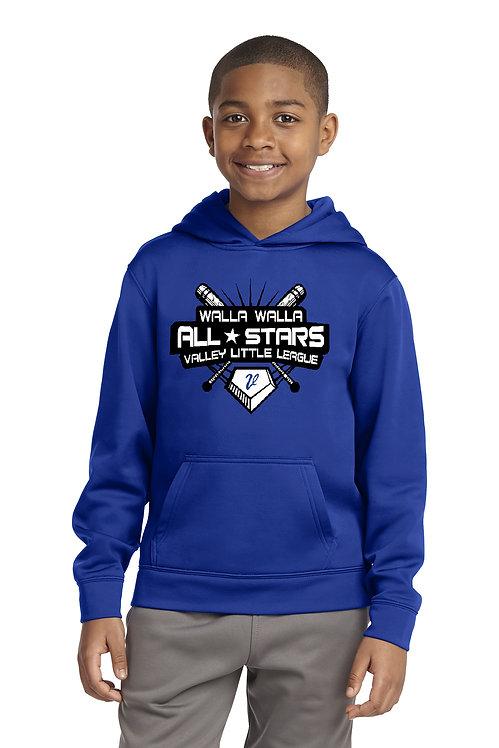 11 YEAR OLD Walla Walla All Stars 2021 Youth Hoodie.