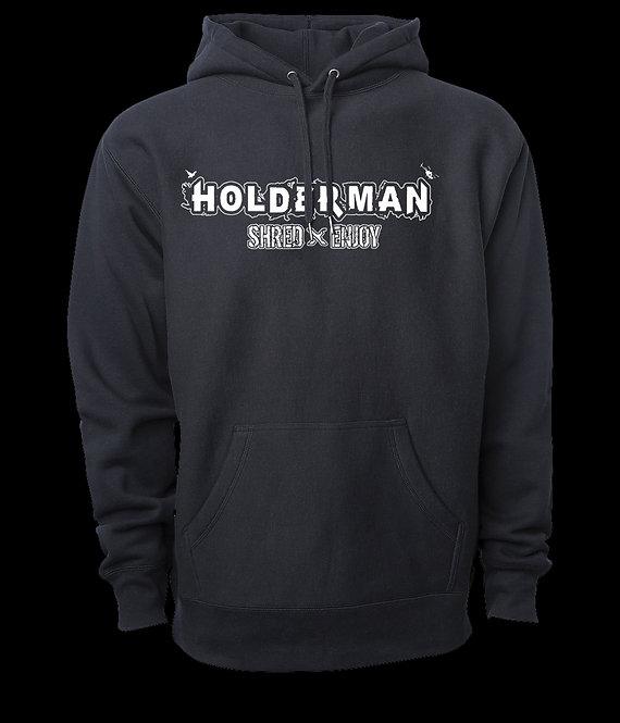 HSE Logo Hoodie. (Black)