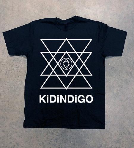 Kid Indigo Tee  (Black/White)