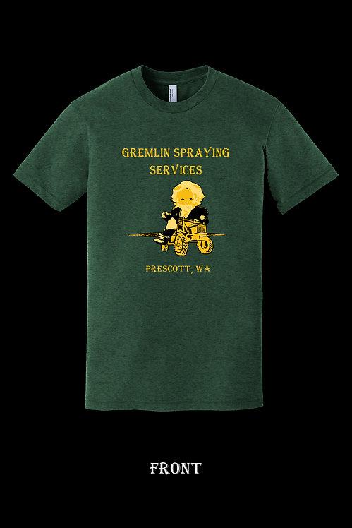 Gremlin Spraying Services Mens Tee.