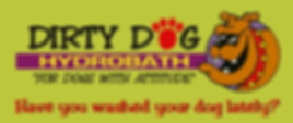 dirty dog hydrobath for dogs with attitude