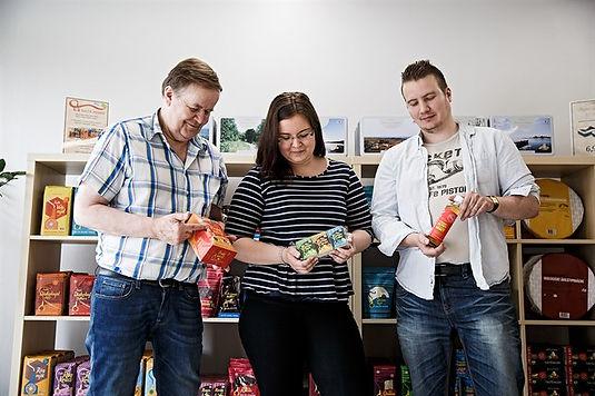 Jan-Erik, Belina ja Peter