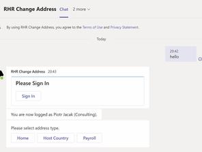 Reload HR on Bots, Part 1, Change Address