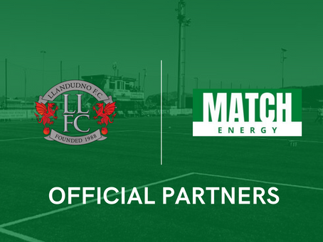Announcing our new partnership with Llandudno FC