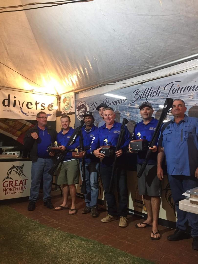 Billfish winners 2019