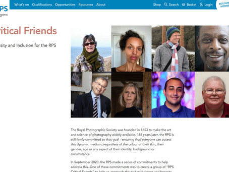 News: Royal Photographic Society Critical Friends!