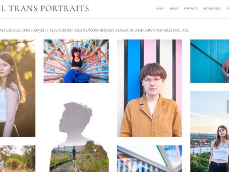 Bristol Trans Portraits: New Website!