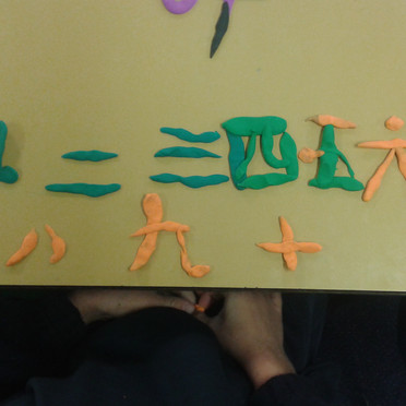learning recognize numbers