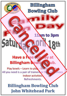 Cancelled - Bowling Club Family Fun Day - 18th April