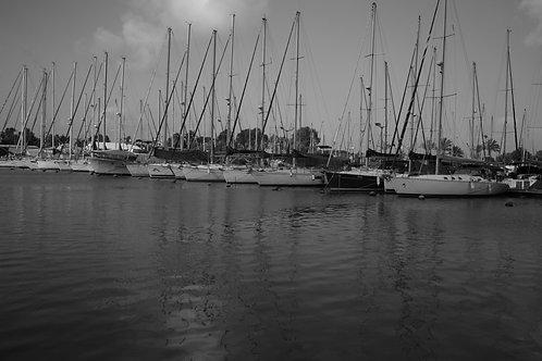 Yachts 60x90 cm