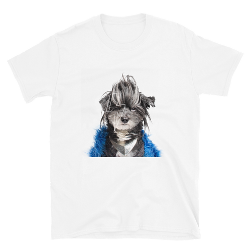 Rock n Dog : Glam Rock T-Shirt, Unisex