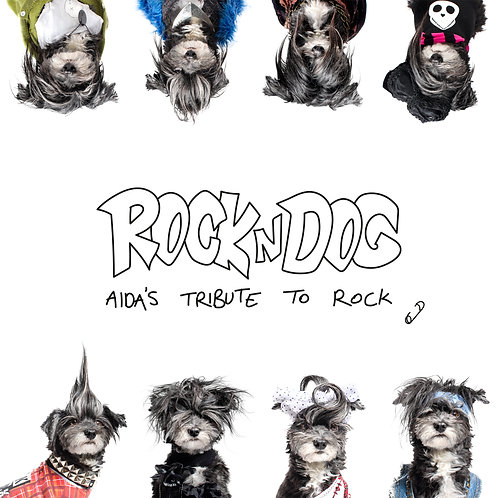 Rock n Dog postcard collection