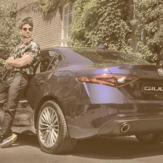 Giulia (Alfa Romeo with Vangardist Magazine)