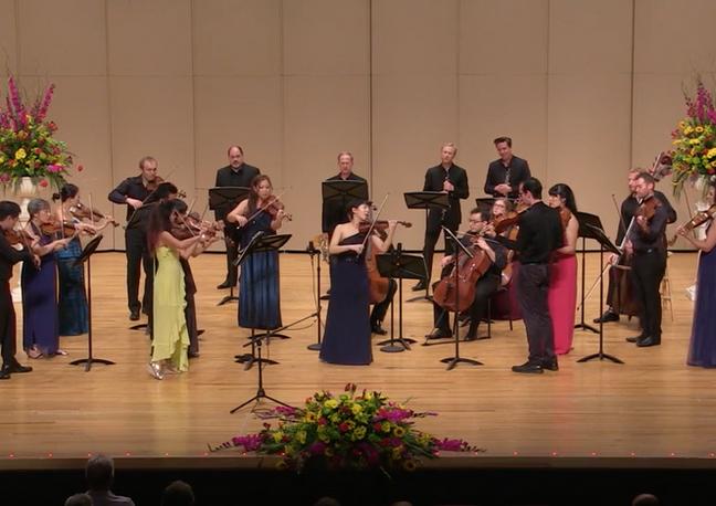 Mozart B-flat major Violin Concerto with ECCO