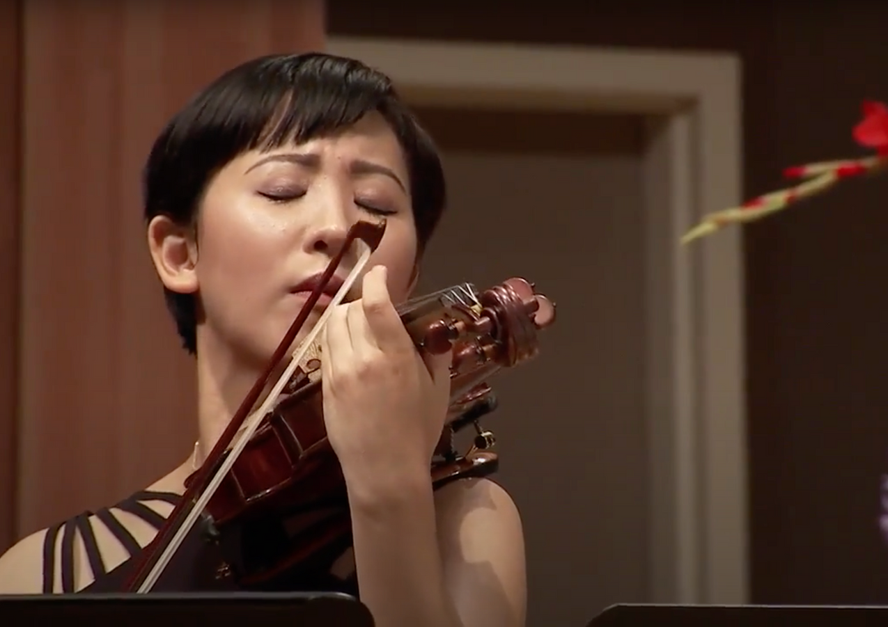 Saint-Saëns D minor Violin Sonata with Chih-Yi Chen