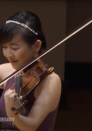 Beethoven A major Violin Sonata with Audrey Vardanega