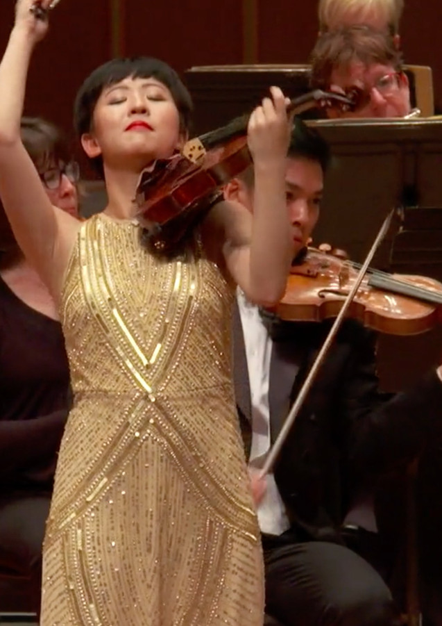 Mendelssohn E minor Violin Concerto with maestro Leonard Slatkin and the Indianapolis Symphony Orchestra