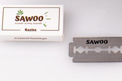 SAWOO - Razies / 10er Packung Edelstahl Klingen