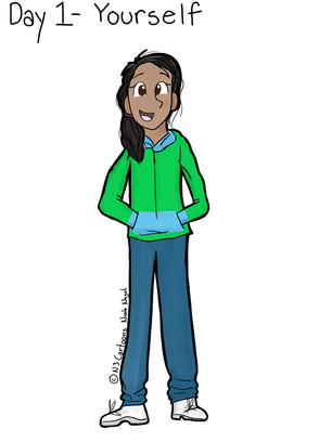 Day One! - Draw Yourself