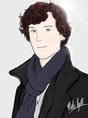 A Sherlock Drawing!
