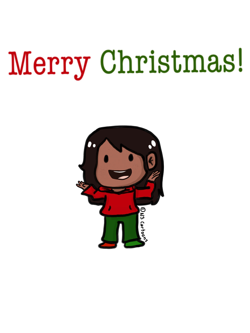 Merry Christmas Chibi