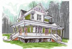 120326 exterior elevation sketch for parade