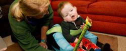 Paediatrics physiotherapist