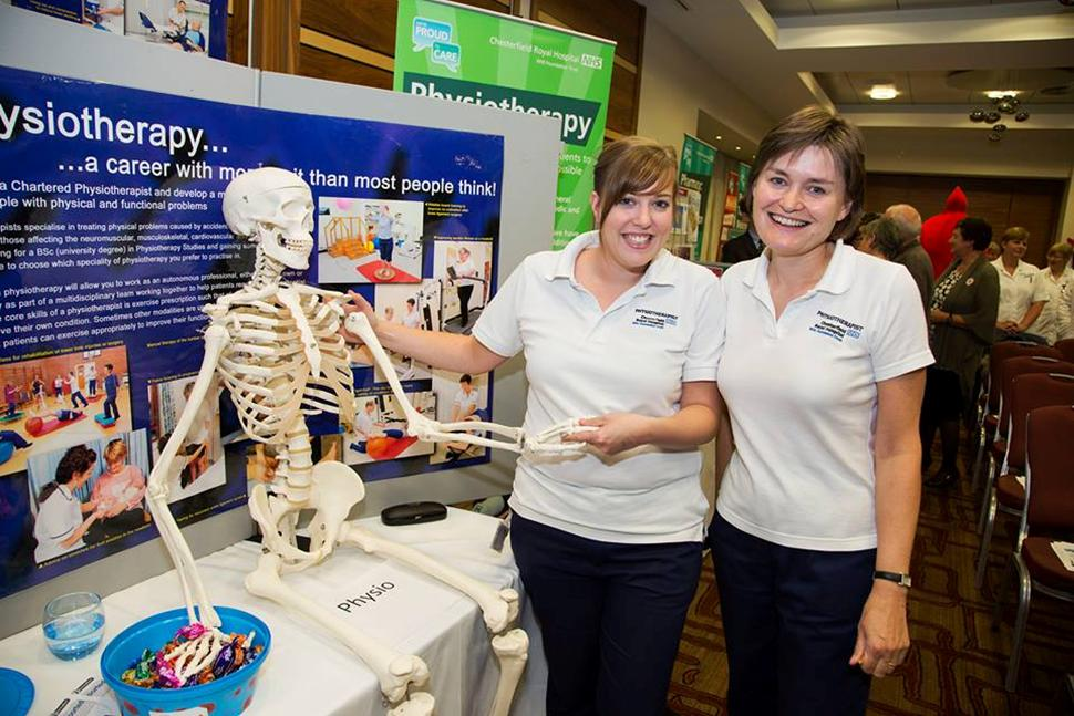 Physiotherapists at AGM