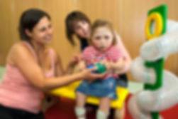 Paediatric OT with patient