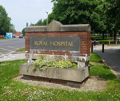 Chesterfield Royal Hospital entrance